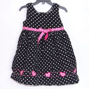 Blueberi Boulevard Girls Size 4 Polka Dot Dress